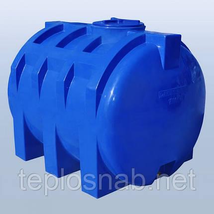 Пластиковый бак (емкость  горизонтальная) RG 1500 двухслойная, фото 2