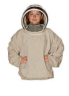 Куртка пчеловода Евро. Лён. Размер L / 50-52