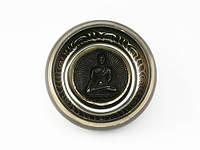 Чаша поющая тибетская литая с буддой, фото 1