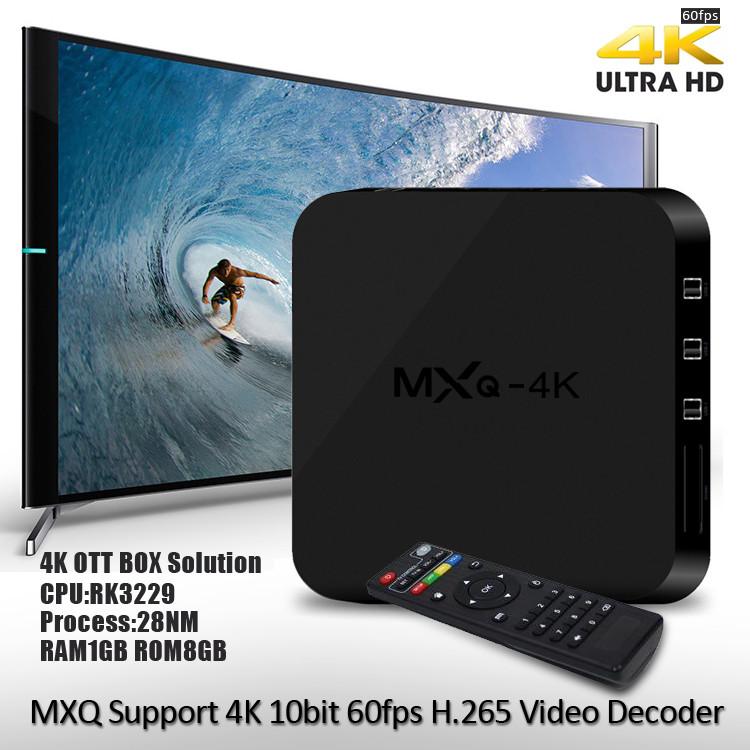 ТВ приставка Smart TV Box MXQ-4K