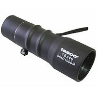 Монокуляр Tasco 16x40 для наблюдений за природой, в обрезиненном корпусе