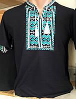 Мужская футболка с украинской вышивкой 307 САК