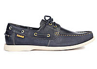 Мужские топсайдеры Timberland Men's Earthkeepers Boat Shoe Blue (Тимберленд) синие