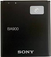 Аккумулятор для Sony Xperia J, Xperia TX, Xperia L, Xperia M, Xperia E1, Xperia E1 dual, Xperia M2 оригинальный, батарея BA900