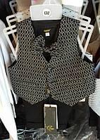 Детский нарядный костюм молочный р. 0,6мес-3 года