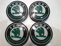 Колпачок в диск Skoda диаметр 56 мм