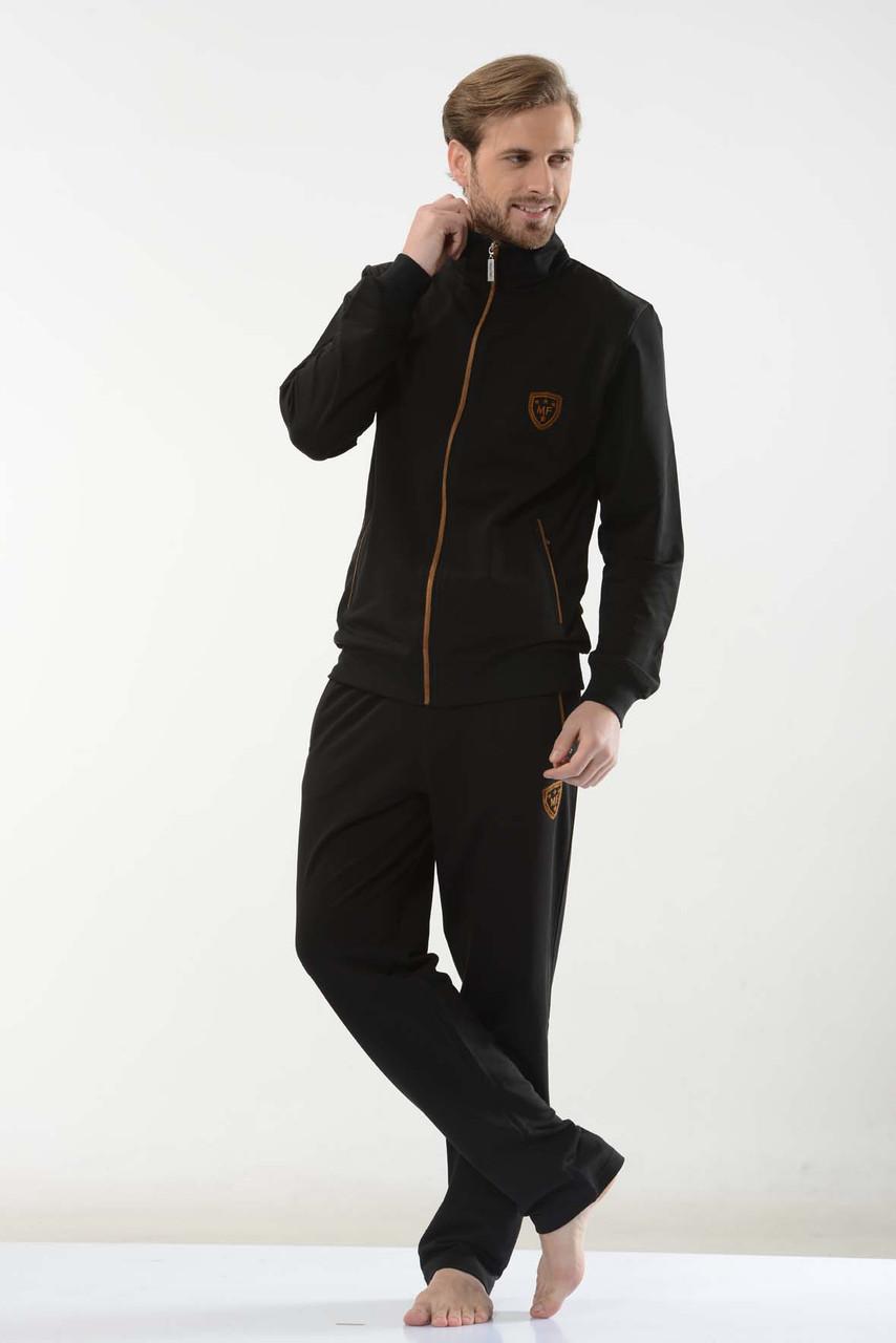 Мужские спортивные костюмы фото цены характеристики пр-во Турция FM16223 Black