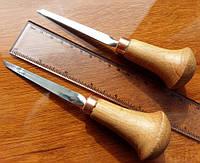 Комплект косых плоских штихелей 4мм(левый, правый), фото 1