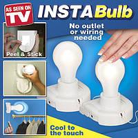 Светильник - портативная лампочка на батарейках InstaBulb