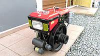 Двигатель Булат R180NЕ (дизель, 8 л.с., электростартер, водяное охлаждение)