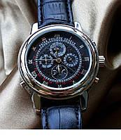 ЧАСЫ НАРУЧНЫЕ PATEK PHILIPPE SKY MOON GREY BLACK , мужские часы, механические часы, наручные часы, Патек Филип