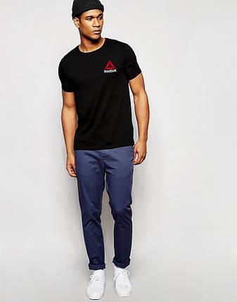 Мужская футболка Reebok черная, фото 2