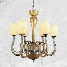 Бра стеклянная в классическом стиле 20-W8071-1 (золотая), фото 2