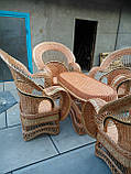 """Набор """"Королевский"""" 4 кресла + стол №2, фото 2"""