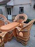 """Набор """"Королевский"""" 4 кресла + стол №2, фото 3"""
