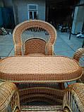 """Набор """"Королевский"""" 4 кресла + стол №2, фото 4"""