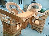 """Набор """"Королевский"""" 4 кресла + стол №2, фото 6"""