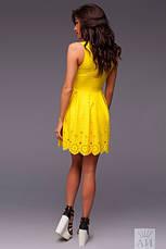 Платье складки внизу с перфорацией, фото 3