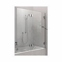 Шторки для ванны Kolo Niven 125,стекло прозрачное/хром / серебряный блеск