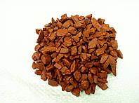 Декоративный цветной щебень (крошка, гравий) , оранжевый (05)