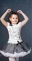 Детский  нарядный костюм, пышная юбка 3-8 лет