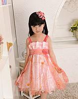 Детское платье нарядное 115-125 см