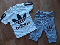 Детский Костюм  летний adidas  2-ка