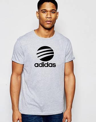 Мужская футболка Adidas с принтом, фото 2
