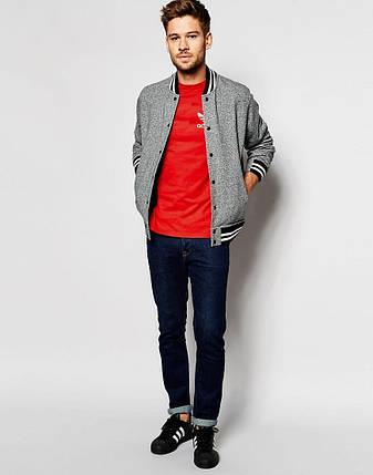 Мужская футболка Adidas (с маленьким принтом), фото 2