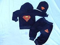 Детский костюм Супермен 3ед.