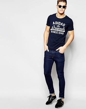 "Мужская футболка ""Adidas Original"" т.синяя, фото 2"