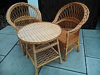 """2 кресла """"Обычные"""" и круглый стол"""