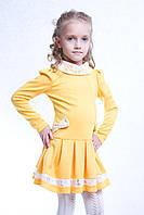 Детское платье  Екатерина желтое