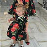 Детское нарядное Платье  Гвоздика