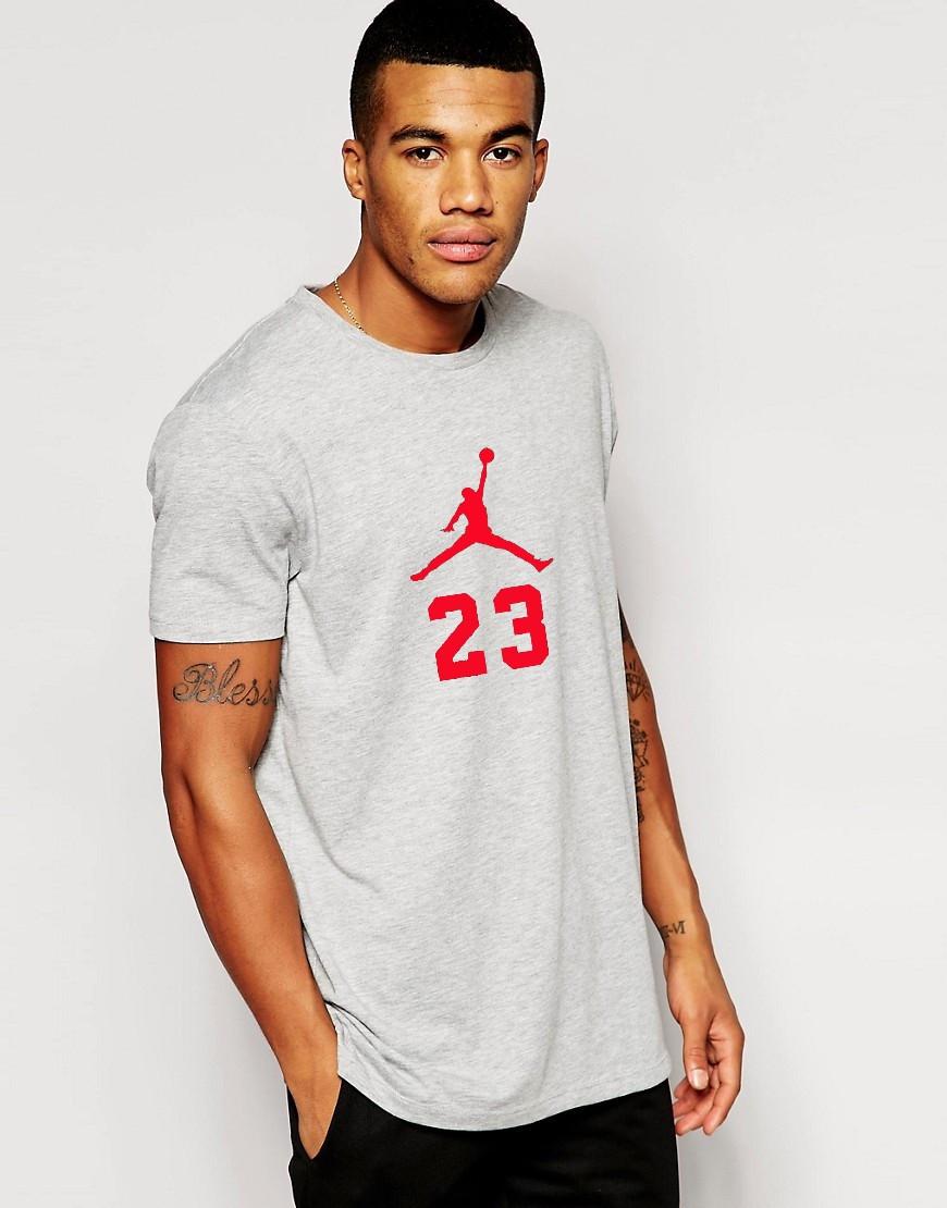 Мужская футболка Jordan 23 с принтом