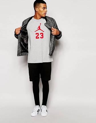Мужская футболка Jordan 23 с принтом, фото 2