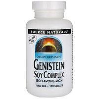 Омолаживающий комплекс для женщин Генистеин (Genistein), 1000 мг 120 таблеток