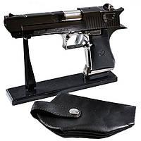 Зажигалка пистолет с кобурой 4423
