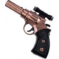 Зажигалка пистолет с лазером 4424