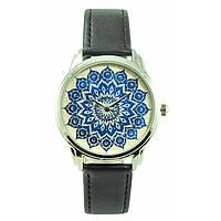 Женские наручные часы «Голубой орнамент», фото 1
