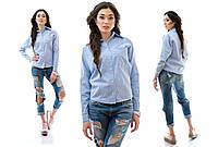 Рубашка женская стрейчевая повседневная P2163