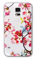 Прозрачный Силиконовый чехол с рисунком для Samsung Galaxy S4 i9500
