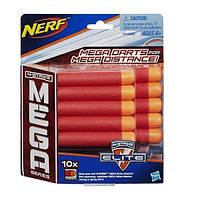Набор стрел для бластеров Мега 10 стрел Nerf (Hasbro), фото 1