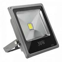 Светодиодный LED прожектор 30W SLIM IP66 ГАРАНТИЯ БЕЛЫЙ