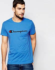 Мужская футболка с принтом Champion (Чемпион)