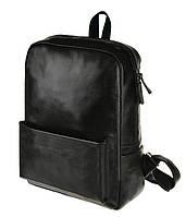 Удобный кожаный рюкзак