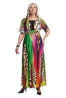 Женское платье  большого размера 1605035/2