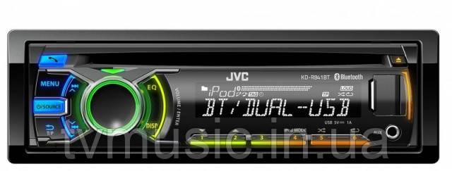 Автомагнитола JVC KD-R841BTEY