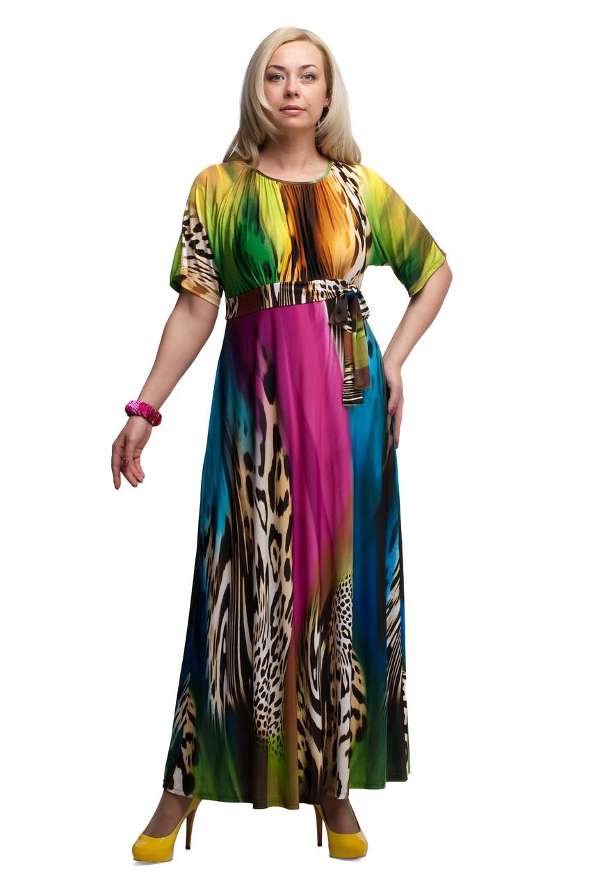 Женское платье  большого размера 1605035/1