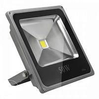 Светодиодный LED прожектор 50W SLIM IP66 ГАРАНТИЯ БЕЛЫЙ